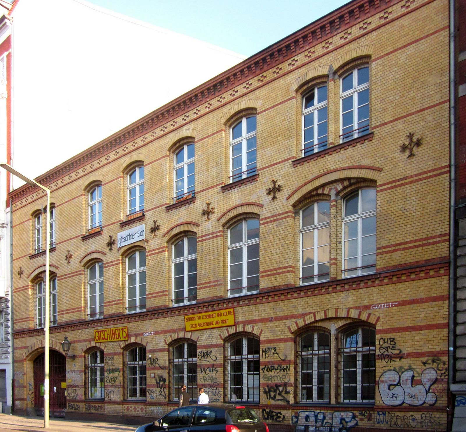 Gitschiner 15 in Kreuzberg