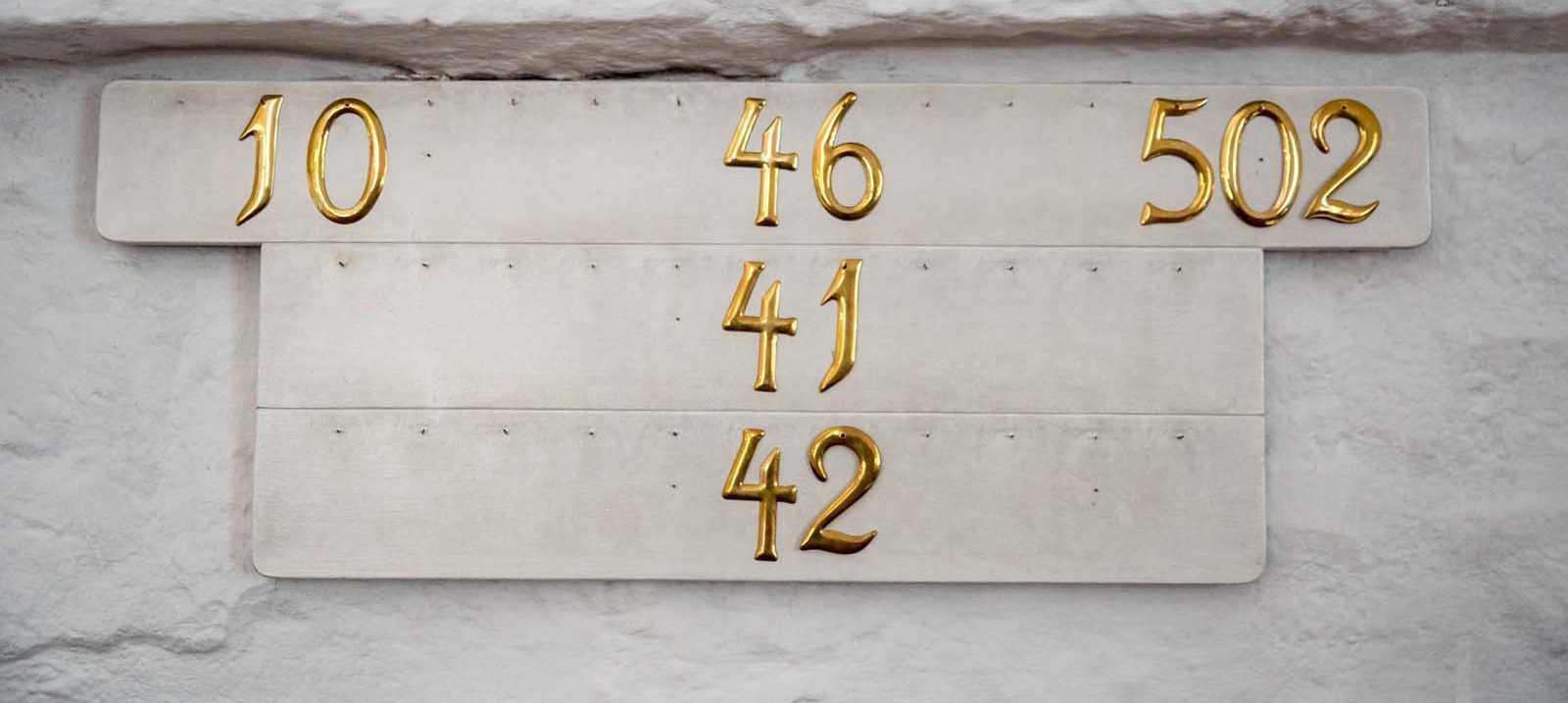 Nummern