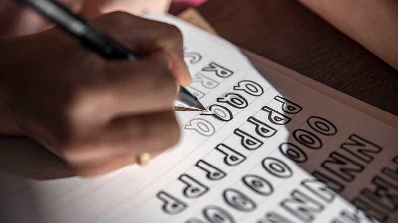 schöne Buchstaben schreiben