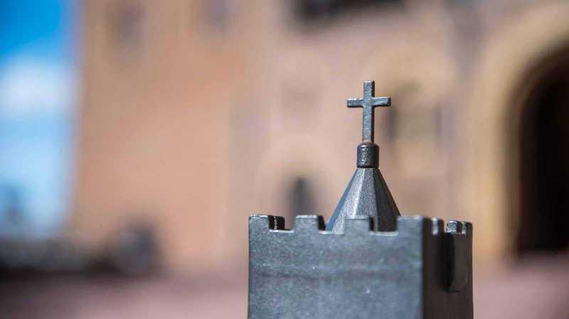 Kleines Kreuz auf der Wartburg