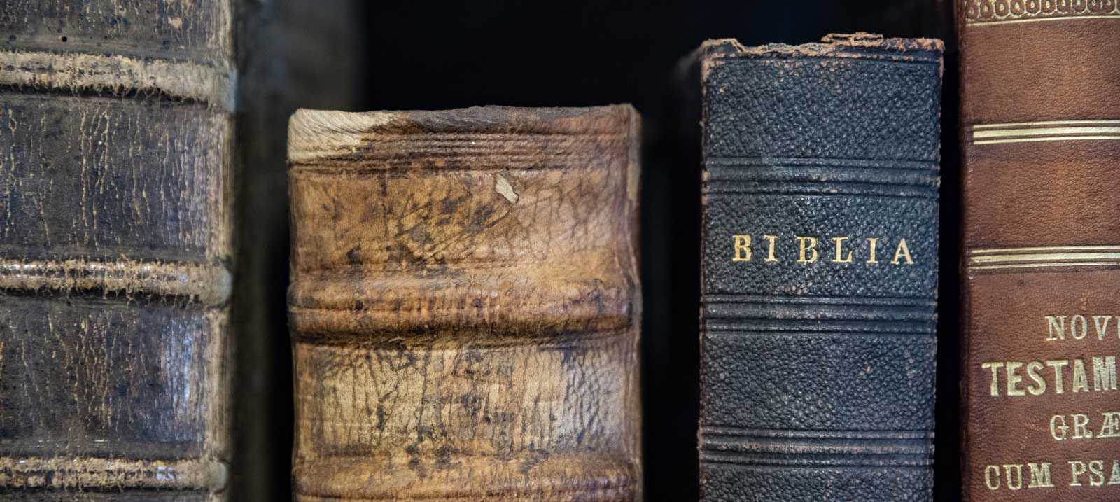 alte Bibel auf der Wartburg