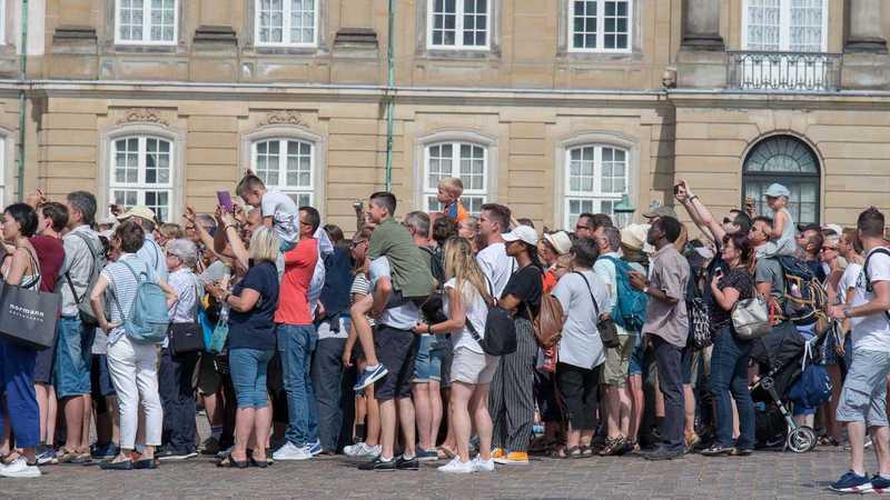 Menschen in Kopenhagen