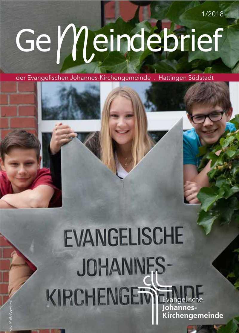 Ev. Johannes-Kirchengemeinde Gemeindebrief Titel