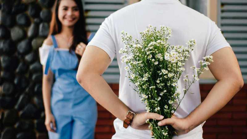 mit Blumen eine Freude machen