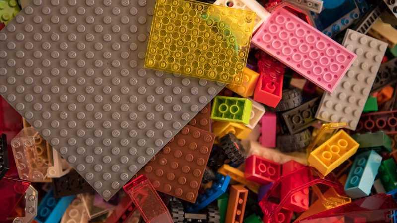 Lego Haufen
