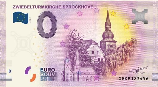 0-Euro-Schein Sprockhövel