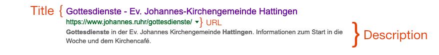 Google Suchergebnis für Gottesdienst in Hattingen